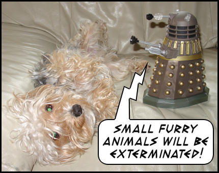 ''Small furry animals will be exterminated!''