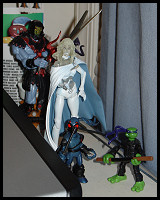 Figures currently on my desk!
