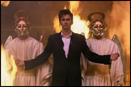 The Doctor is divine.