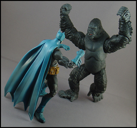 Grodd's always wanted to eat Batman.