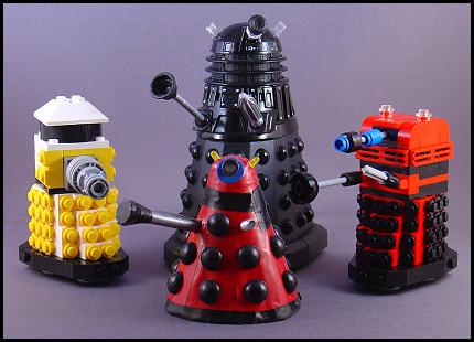 Again with the Lego Daleks!
