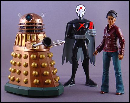 Dalek Thay, Red X, and Martha Jones