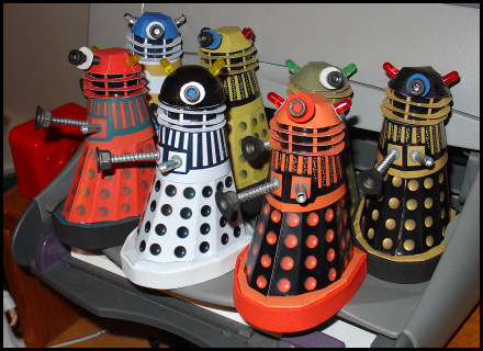 Invasion of the paper Daleks!
