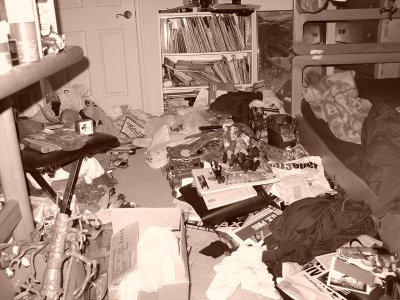 Room of Wes, June 2004.