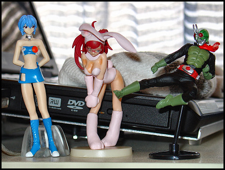 Gashapon figurines rule.