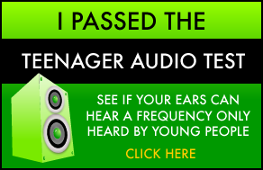 I passed the Teenager Audio Test!