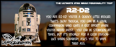 You Are R2-D2!
