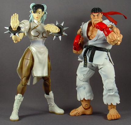 Chun-Li and Ryu.