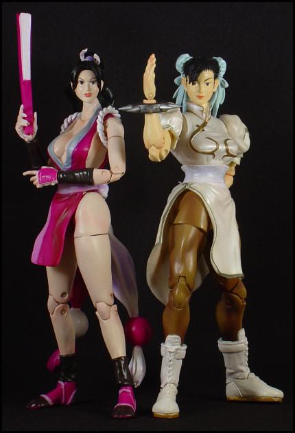 Mai Shiranui & Chun-Li!