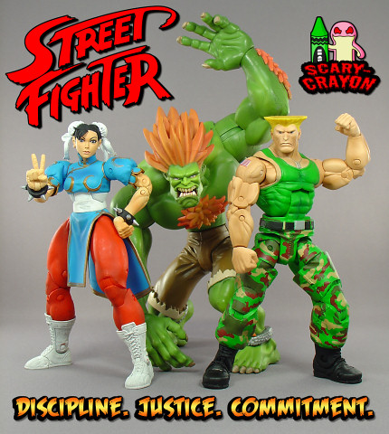 The Street Fighter gang!