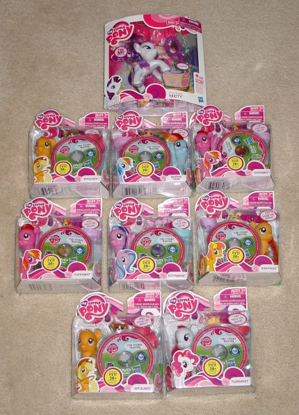 I bought lots of ponies.